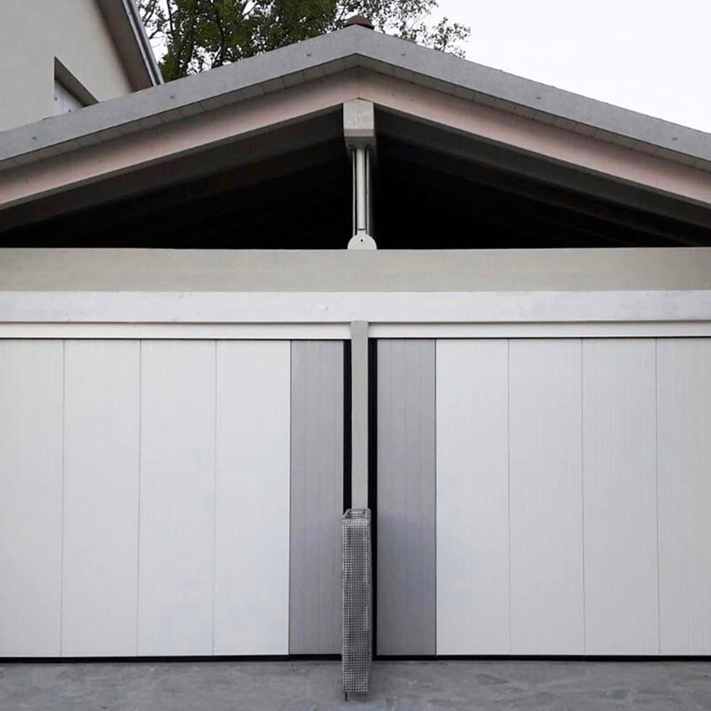 Doppia porta per garage Lateral