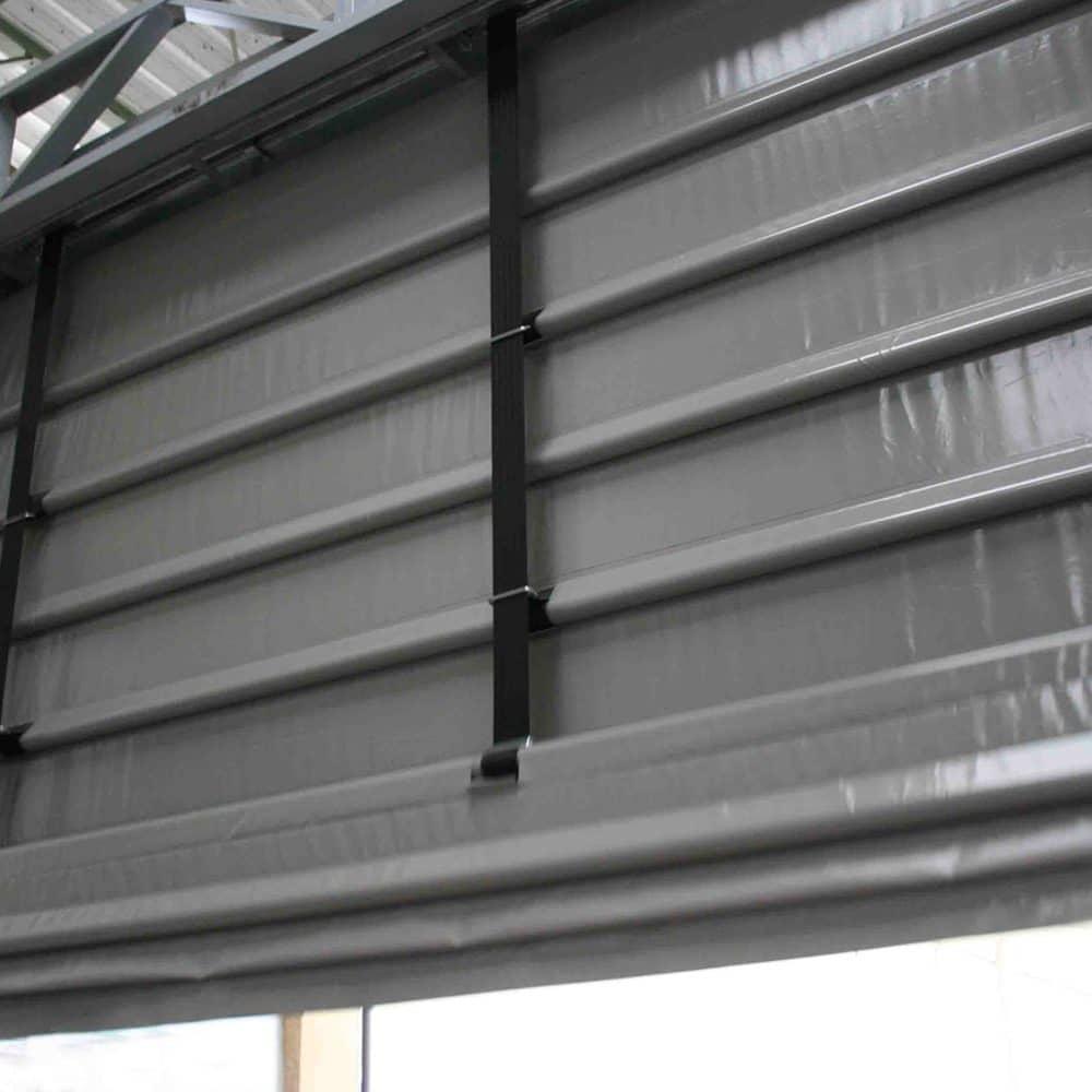 Porta industriale impacchettamento rapido Dapbig grigia