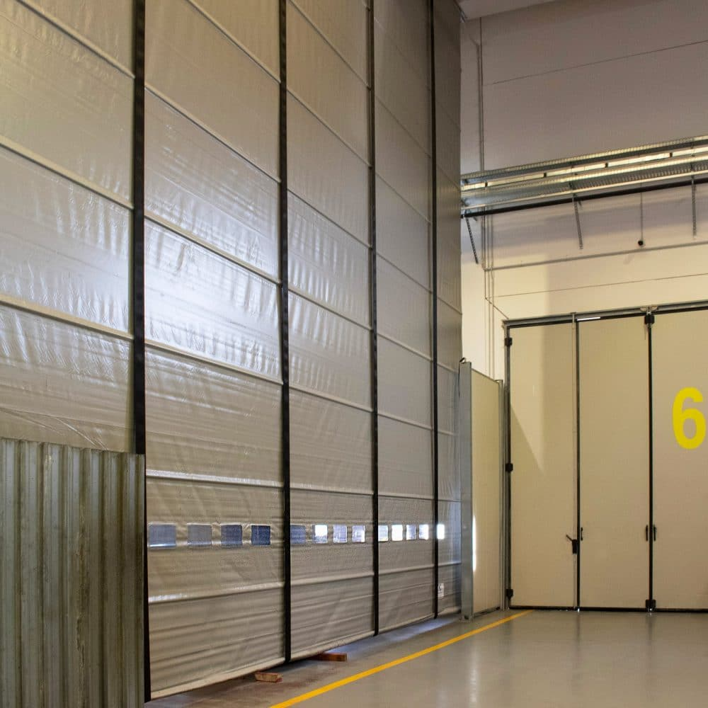 Porta industriale laterale
