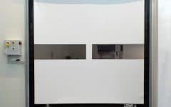Porte rapide Dynaco camera bianca