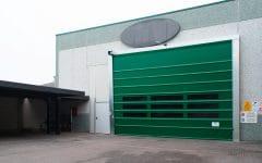 Porta rapida ad impacchettamento automatico E13 colore verde