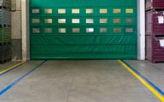 Porta rapida ad impacchettamento automatico E12 colore verde