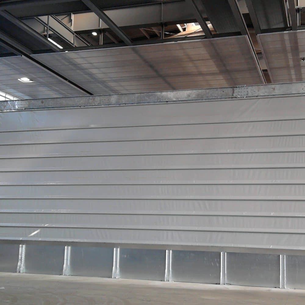 Porta rapida Reverso per capannone industriale
