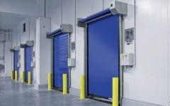 Porte rapide Dynaco camere frigorifere